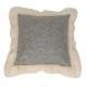 Cushion Baikal square grey