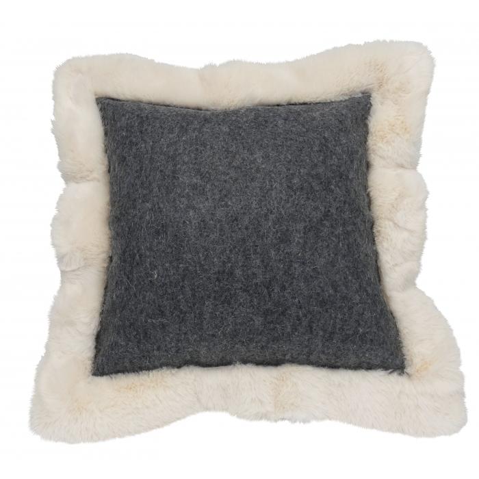 Cushion Baikal square anthracite