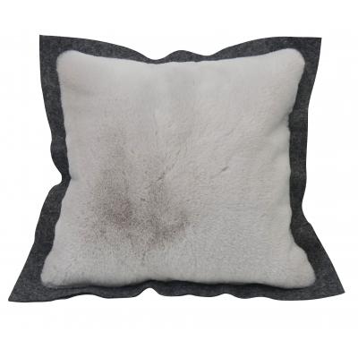 Cushion Alaska grey