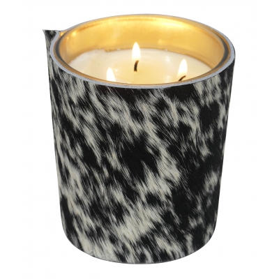 Candle 375gr GOLD spotted cow