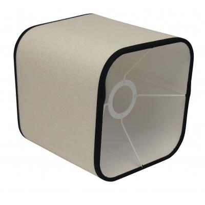 Lampshade white square corner round