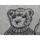 Cushion Forbes Teddy bear Ski